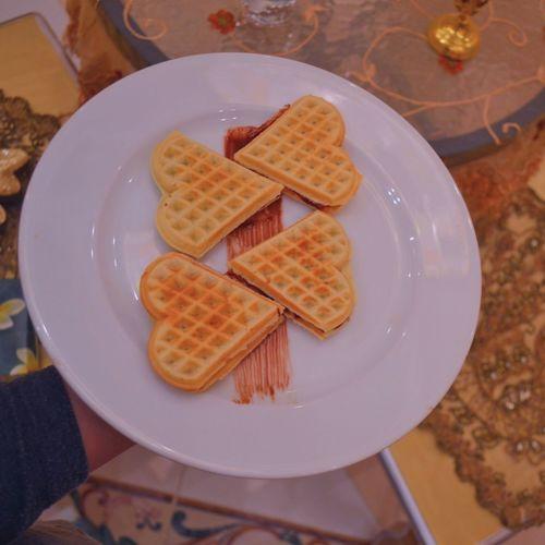 Modern waffles ✨ Food Waffle