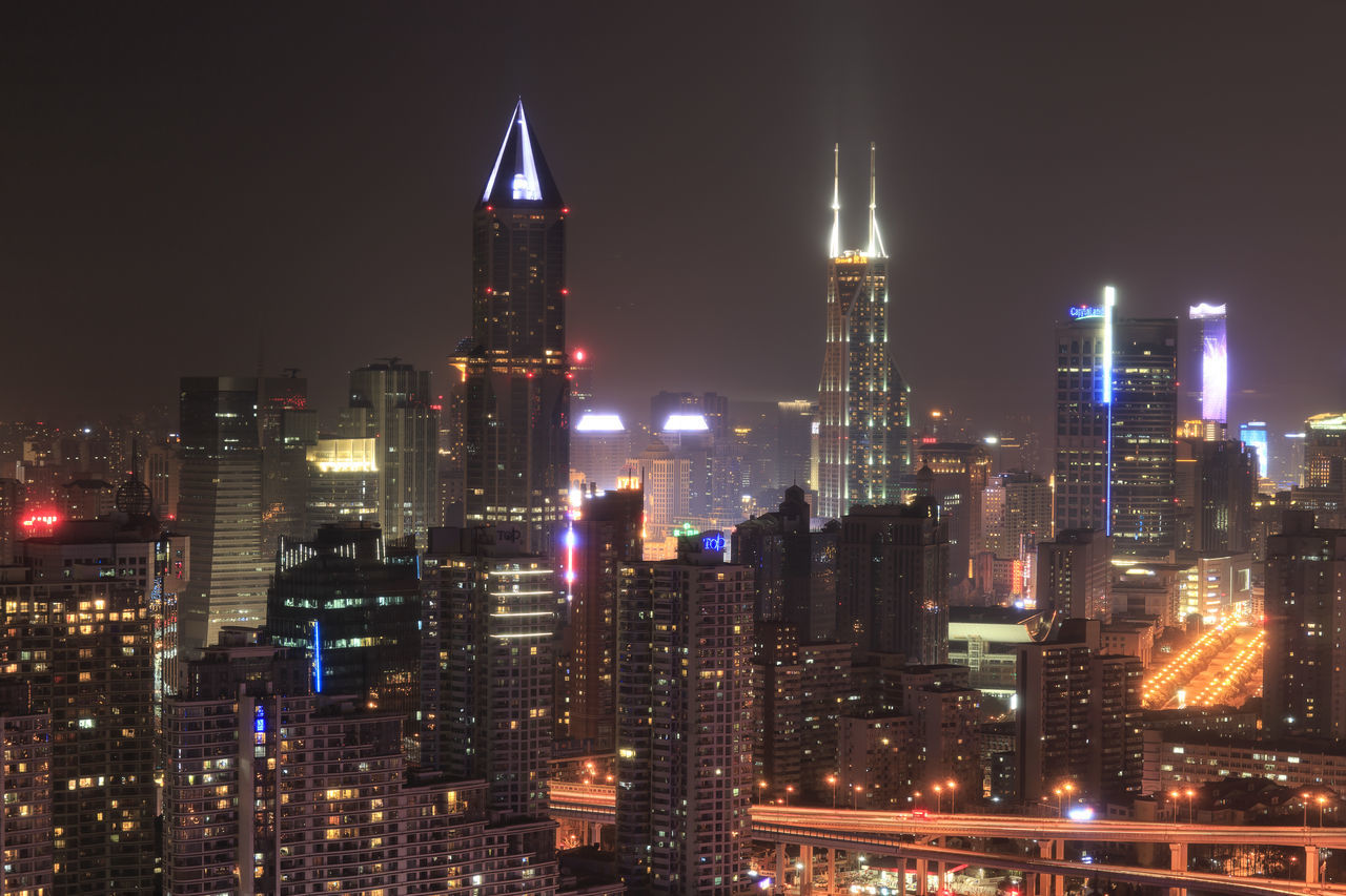 Shanghai, China - March 2, 2017: Shanghai skyline at night with the Shimao International Plaza and Tomorrow Square Towers on background Financial ASIA Beijing Bund Chengdu China City Temple Of Shanghai Cityscape Dim-sum Dumplings Jin Mao Tower Kunming, China Lujiazui Mantou Oriental Pearl Tower Shanghai Shanghai Tower Shanghai World Financial Center Shanghai, China Tomorrow Square Xiao Long Bao Xiaolongbao
