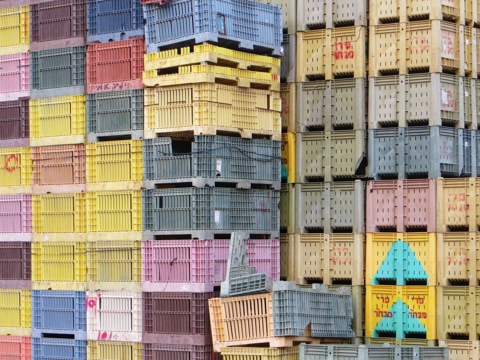 Boxes Shipping  Crates Colors Colorful Happy Shipment EyeEm Best Shots First Eyeem Photo Israel