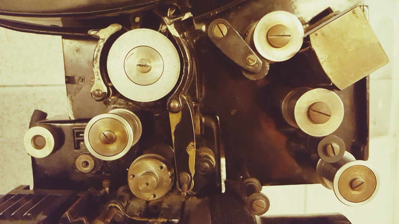 Old-fashioned Retro Styled Indoors  Antique No People Close-up Gear Technology Typewriter Day Movie Camera Cinecamera Vintage Details