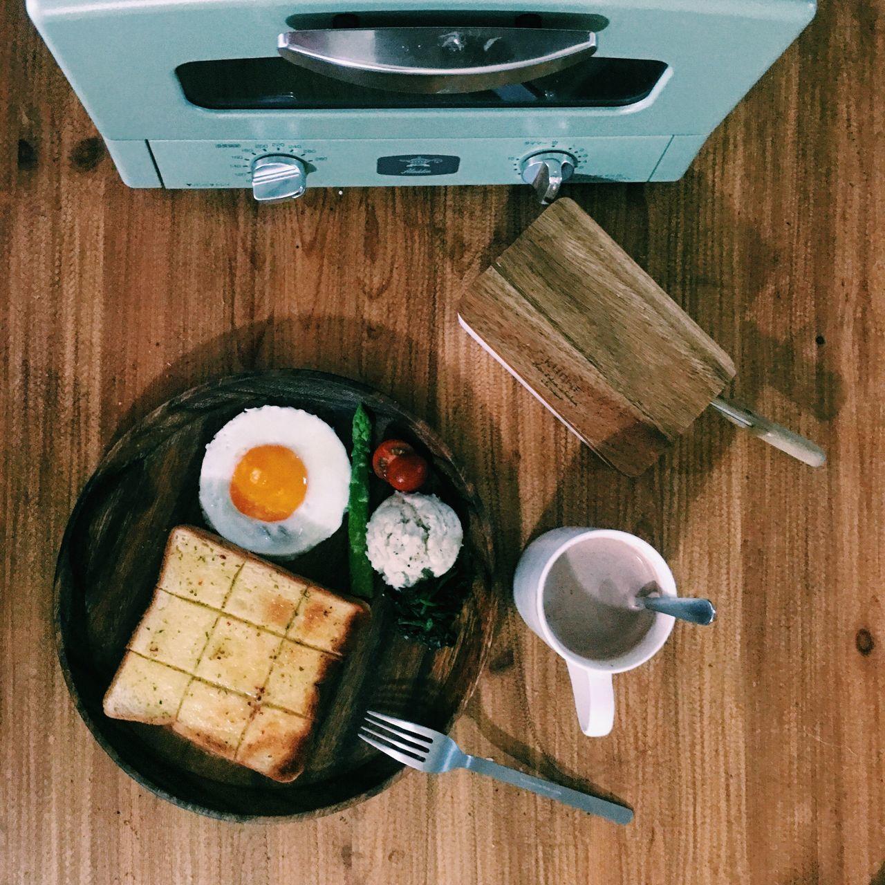 Breakfast Morning Egg おはよう おうちごはん Onthetable Onmytable Fatherhood  朝ごはん おうちカフェ Singlefather あさごはん パパめし シングルパパ シングルファザー Single Father うちめし Aladdin Tost