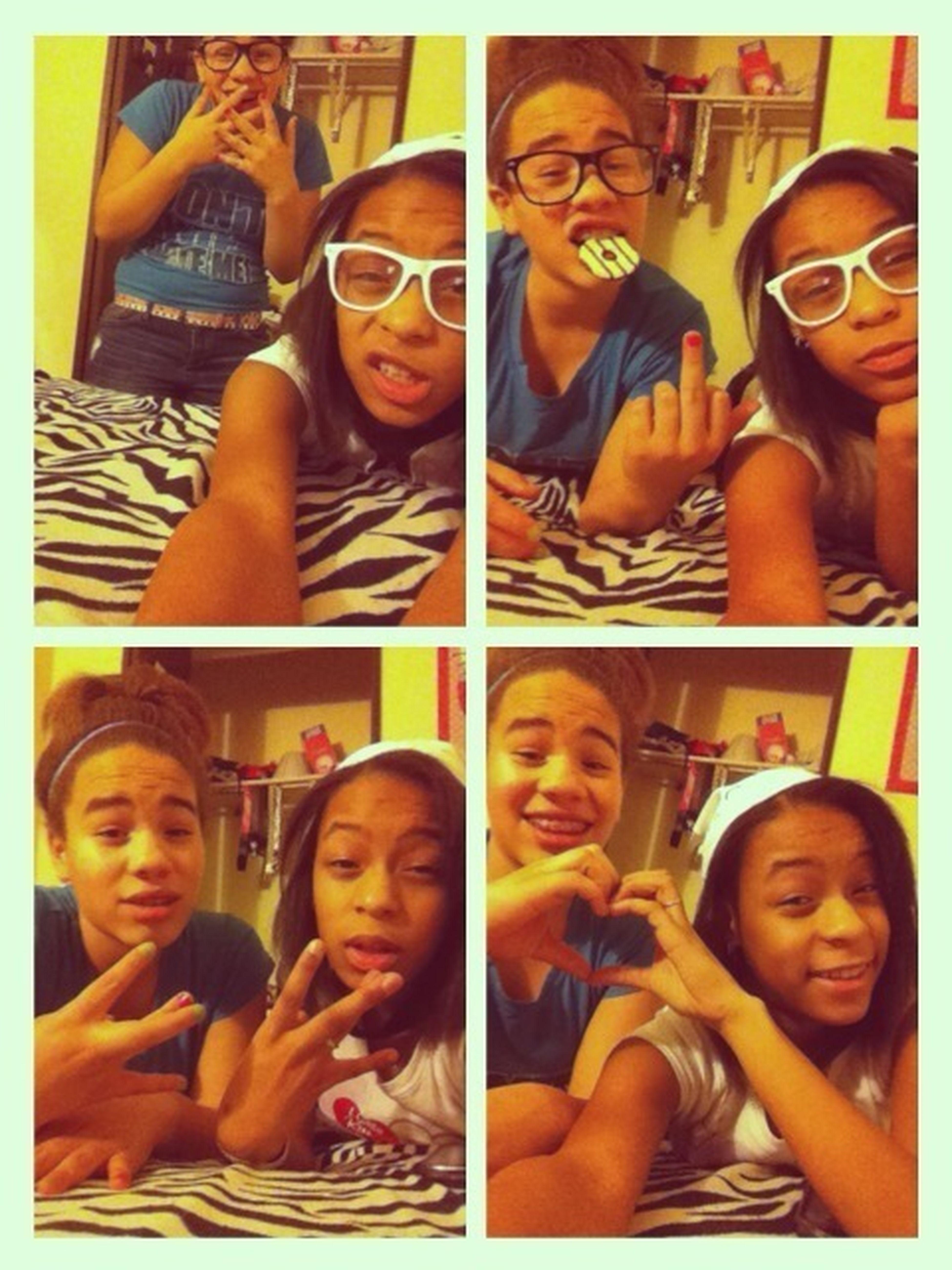 We cute bitch .