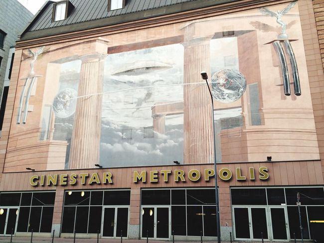 I love this City Frankfurt Am Main Cinestar IPhoneography
