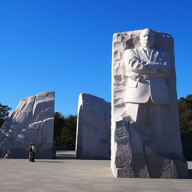 As it is Martin Luther King Jr. I wanted to put up a picture of the Memorial from when we visited last year, a true hero of equality for all and free speech and I feel his lessons are just as relevant now as they were then. --------------------------------------------------------- MartinLutherKingJr MartinLutherKingDay Martinlutherking History Historic Equality EqualityForAll NoToRacism Memorial Inspiration Inspirational WashingtonDC USA Travelusa Travel Instatravel Travelgram Mytravelgram Olympus Takemeback
