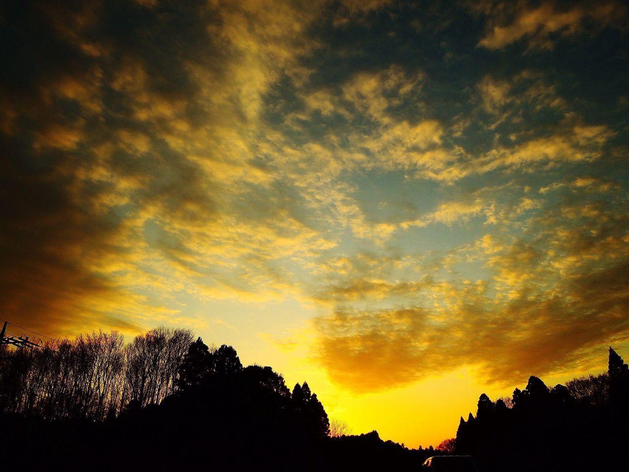 おつかれさま。 Sunset おつかれさま Twilight Afterglow 夕暮れ時 NikonP330