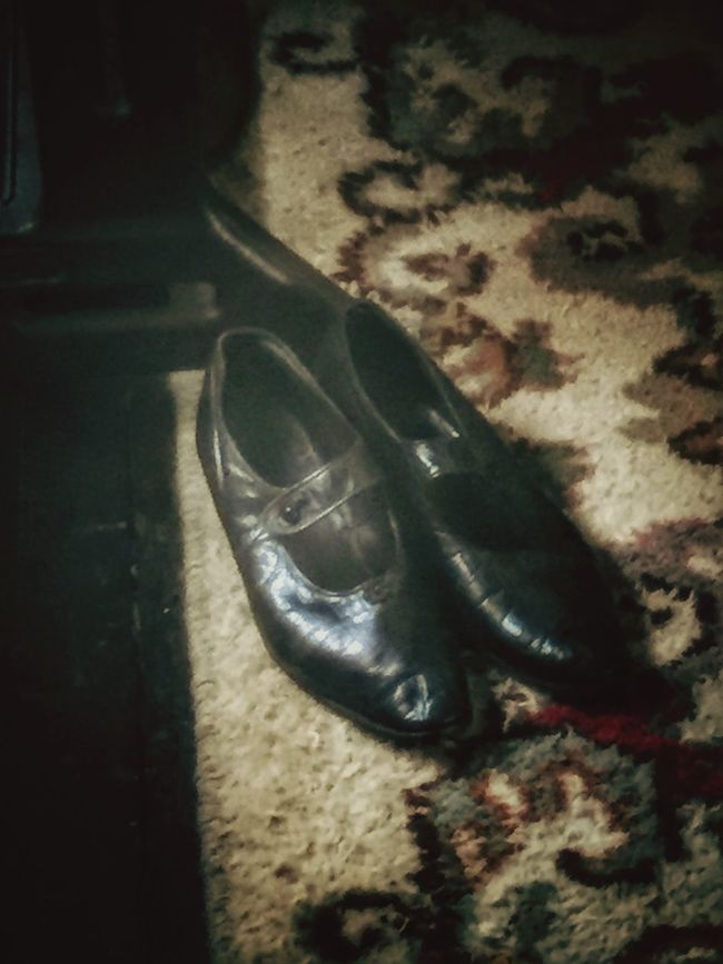 Olden day shoes No People Focus On Foreground Surface Level Old Shoes Old Fashioned Black Leather Vintage Shoes Vintage Rug Vintage Carpet Old Carpet Old Rug