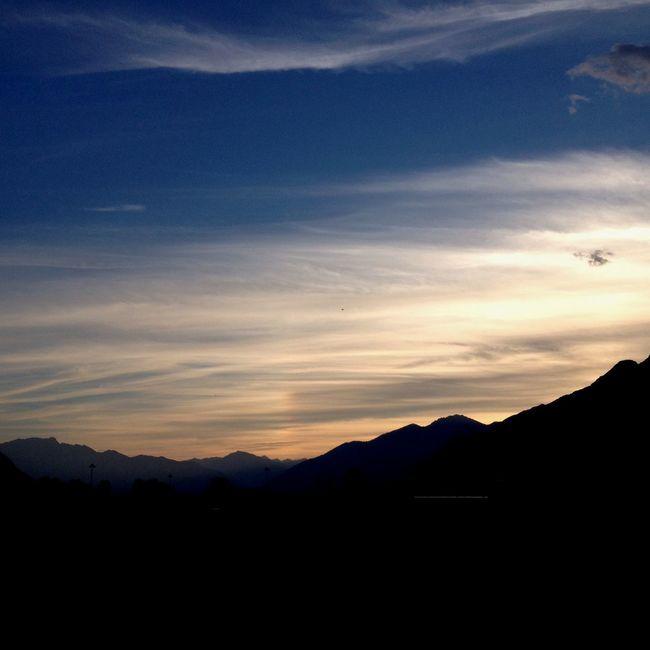 Mountain Silhouette Beauty In Nature Cloud Cloud - Sky Dramatic Landscape Mountain Nature Scenics Silhouette Sky Sunset Tranquil Scene