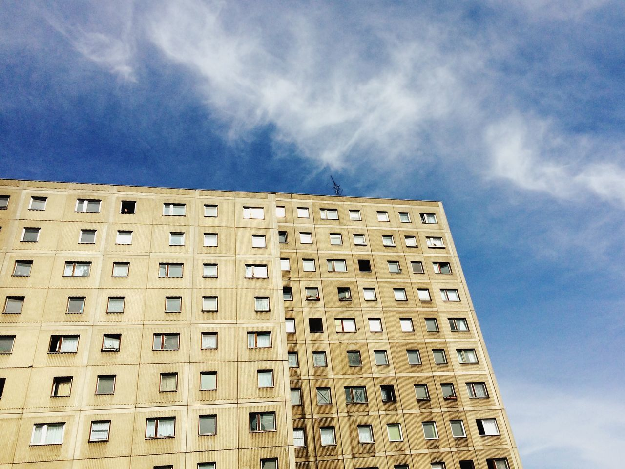 Building Exterior Architecture Low Angle View Sky Built Structure No People Plattenbau City Repetition Day Outdoors Travel Destinations