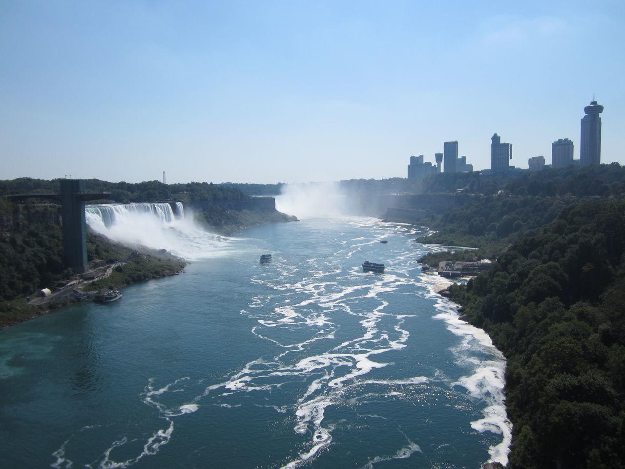Beautiful stock photos of niagara falls, Beauty In Nature, Blurred Motion, Canada, Capital Cities