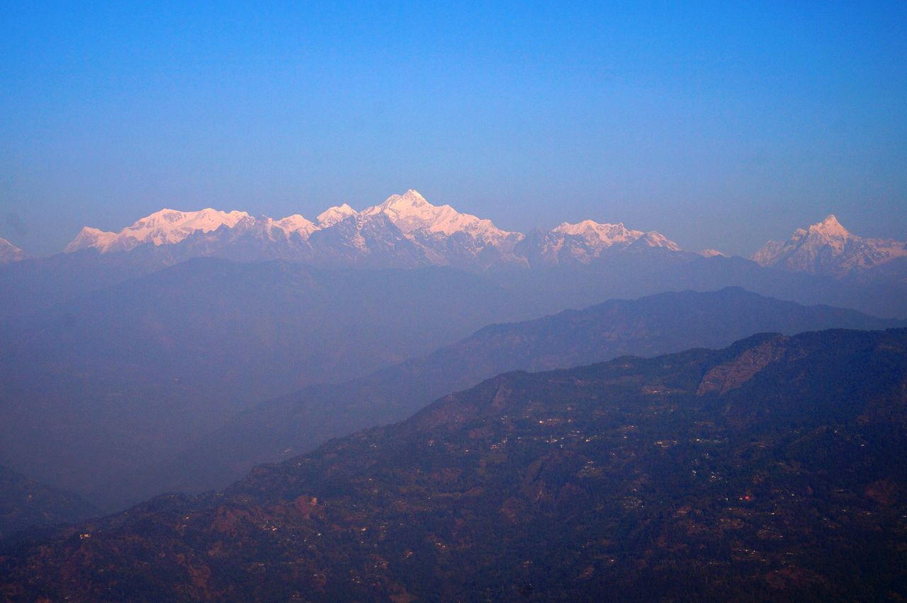 3rd Highest Peak Peaks Queen Of Hills Kanchenjunga Day Scenics Tranquil Scene Beauty In Nature Tranquility Nature Sky No People Sunset Outdoors Shadow Landscape Mountain Beauty In Nature Miles Away Rametey View Point Silarygaon Neighborhood Map Lost In The Landscape Perspectives On Nature