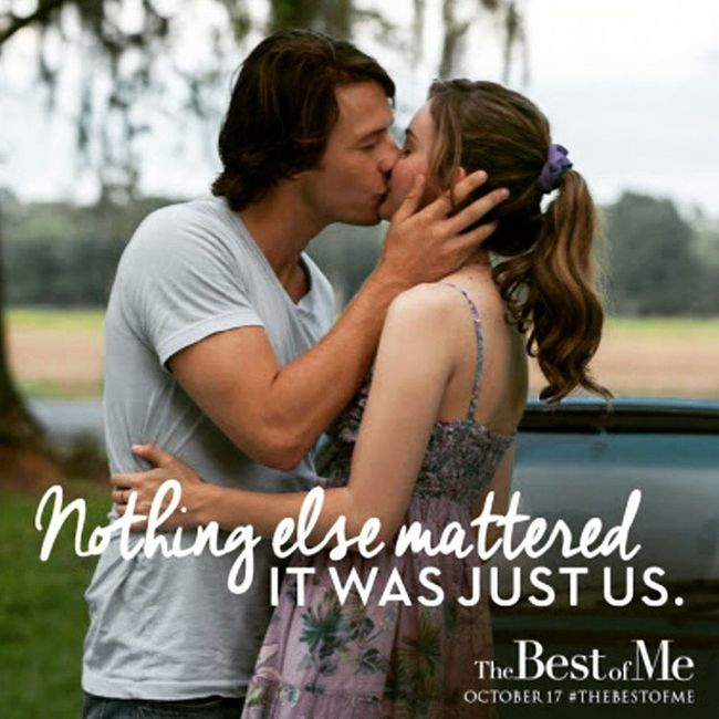 I'm on the fence with this one. Love the chemistry between teenage Dawson and Amanda, but why can't they just have their HEA? Typical Nicholas Sparks movie... sigh. FirstLove Effingsad