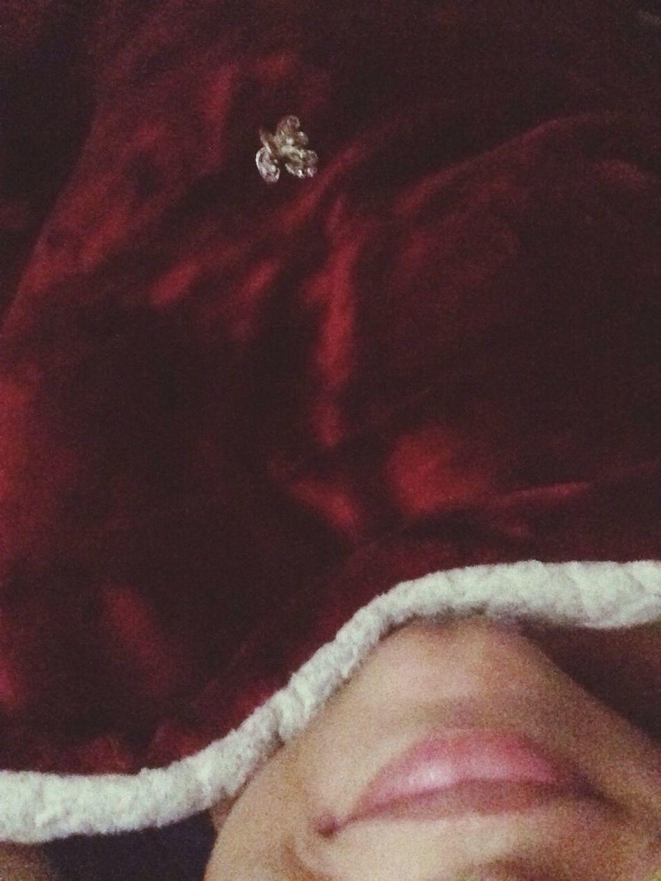 Natal, cama, lençol quentinho. Nada melhor que isso! 🎄❄️🎅🏻