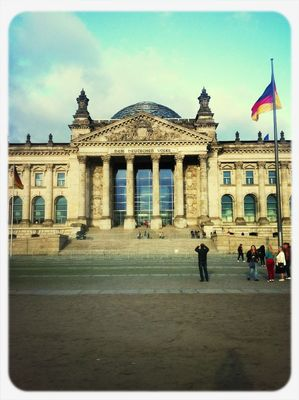 enjoying life at Reichstag by Sara Usinger