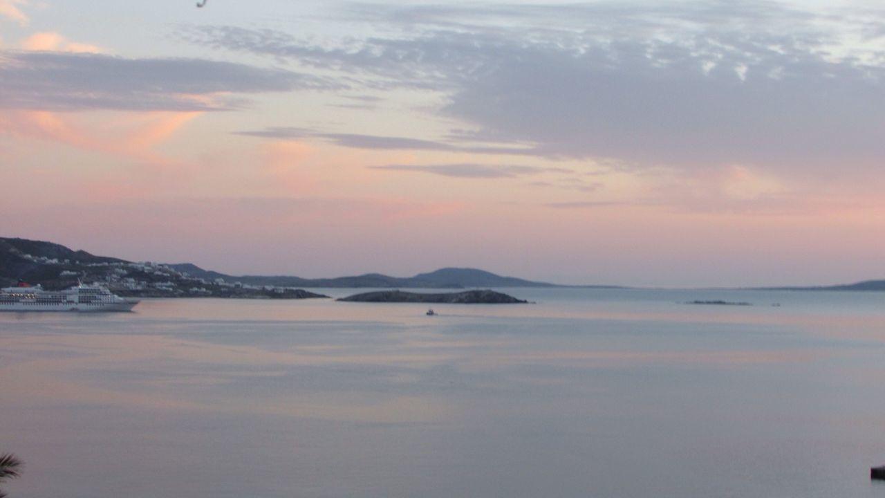 Traveling GREECE ♥♥ Greece Seascape Sunset Mykonos Enjoying The View Sea And Sky