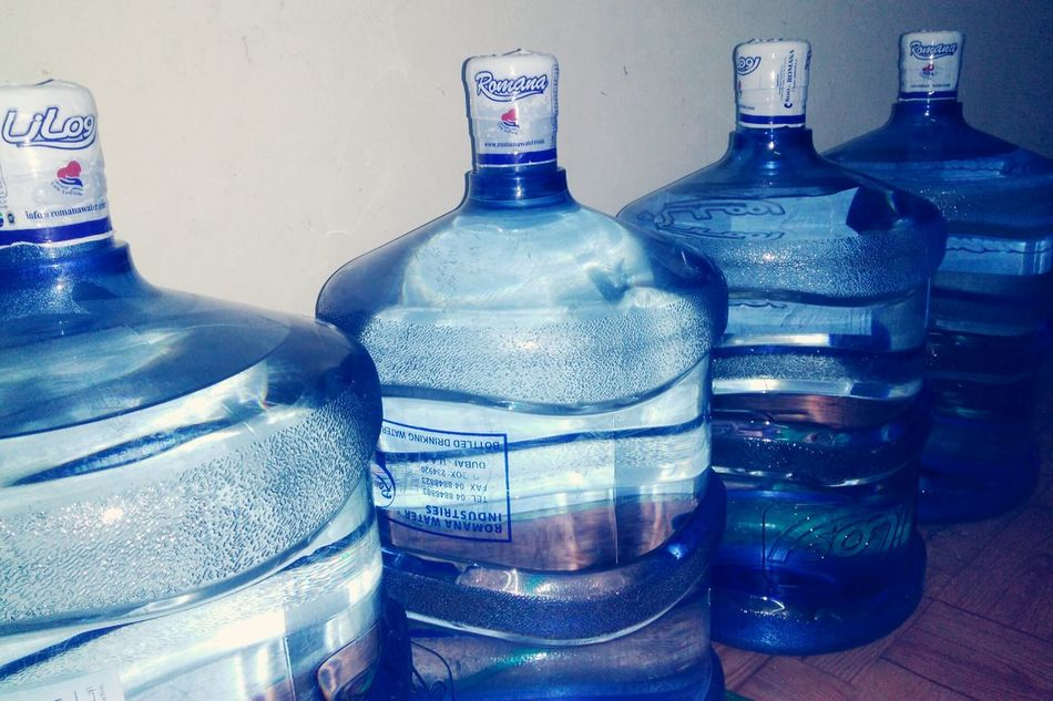 Blue Water Bottles !!!! Drinking Water At Home! Bigbottle Precious ❤