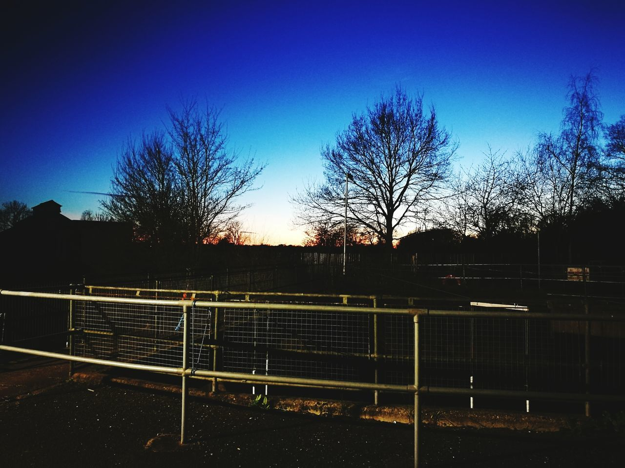 Chelmsford Museum Night Nightphotography Beauty In Nature Metal Dramatic Sky Sunset Galaxy Clear Sky Tranquil Scene