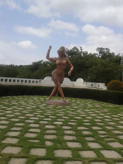 The Dancing Woman Architecture Dance Garden Garden Photography Girl Grass Hyderabad Model Outdoors Pose Posture Ramoji Film City, Hyderabad Sculpting A Perfect Body Sculpture Sculpture Garden Woman Dancing Woman Sculptures Women