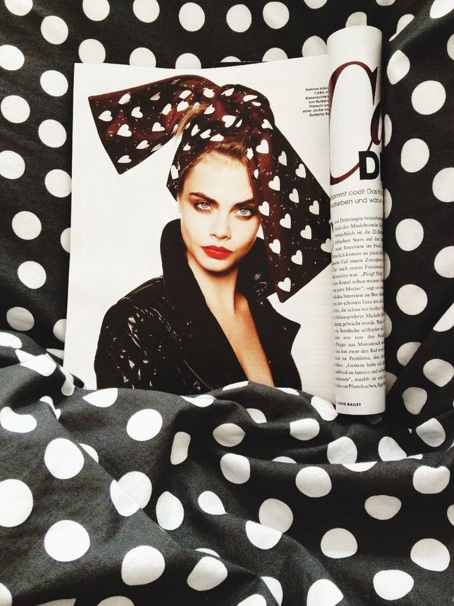 Cara Delevigne Bed Girl Style