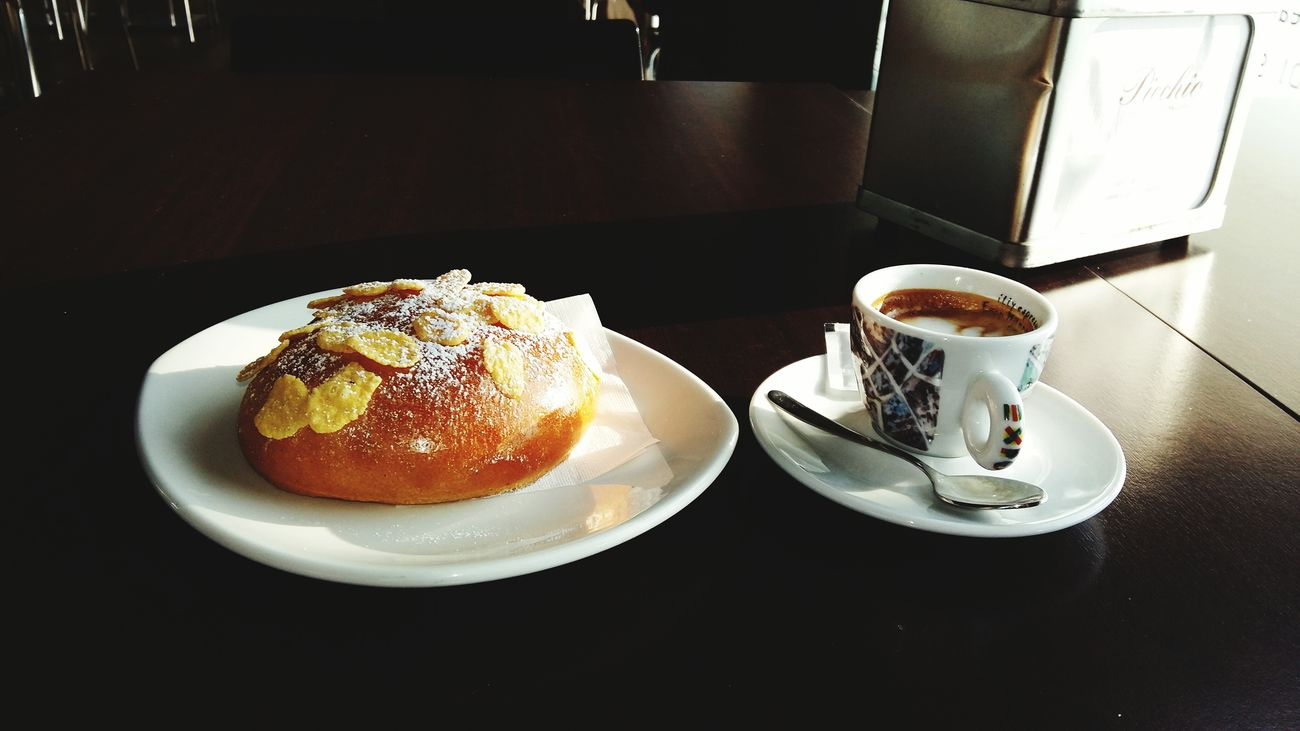 Espresso Coffee Today breakfast