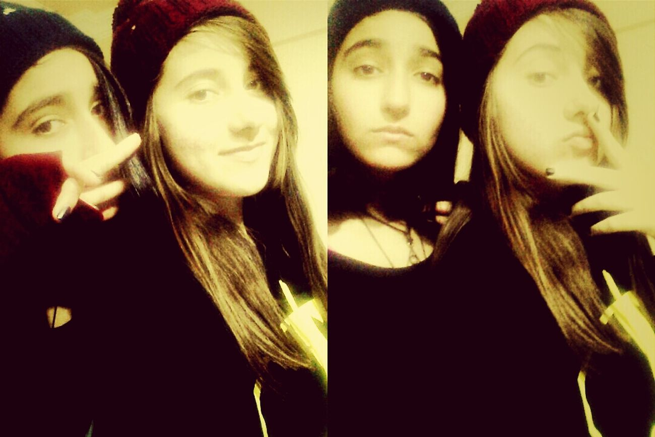 canim canim Bestriend!♡ Retrica ♥ Rock Black