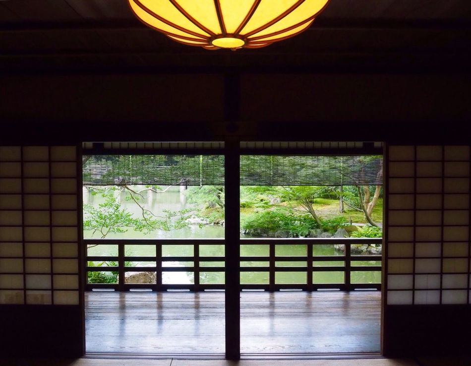 Kyoto Japan Kyotogosho Shusuitei Indoors  No People Architecture Day Wabisabi Summer Olympus PEN-F 京都 日本 京都御所 拾翠亭