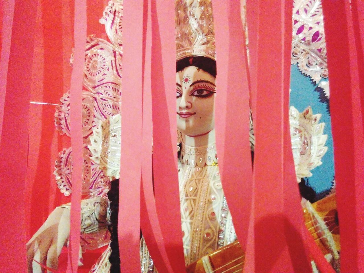 Veiling to be unveiled, Ma saraswati, Goddess of Knowledge and education First Eyeem Photo