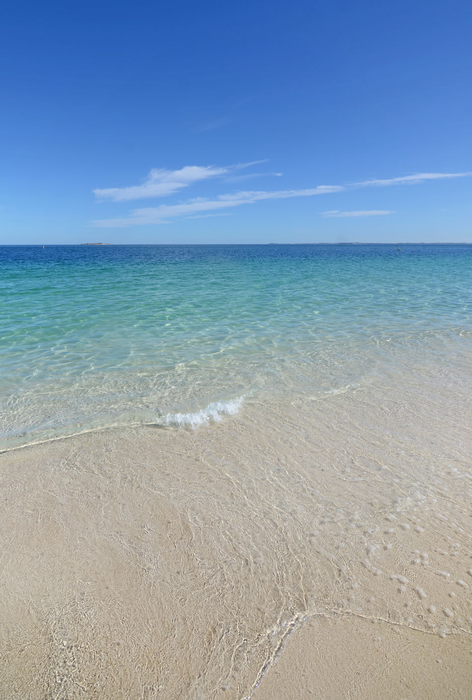 Calm Waters at Jurien Bay Beach Blue Jurien Bay Sand Scenics Sea Sky Sunlight Tranquility Vacations