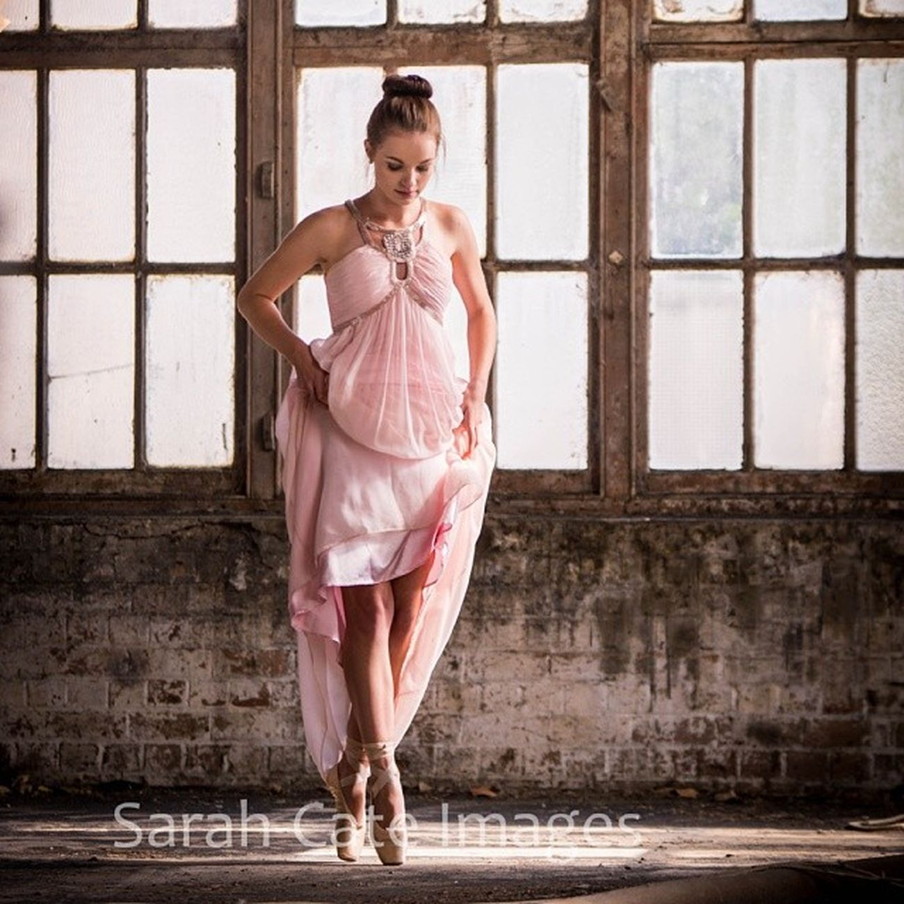 From a photo shoot a few months back...Ballerina Abandonedbuilding Cementworks