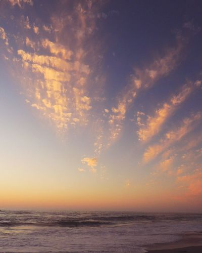 Pastel Power Clouds And Sky Clouds Lovers Pastel Clouds Beach Photography Life Is A Beach Waves, Ocean, Nature Reñaca Beach , Chile