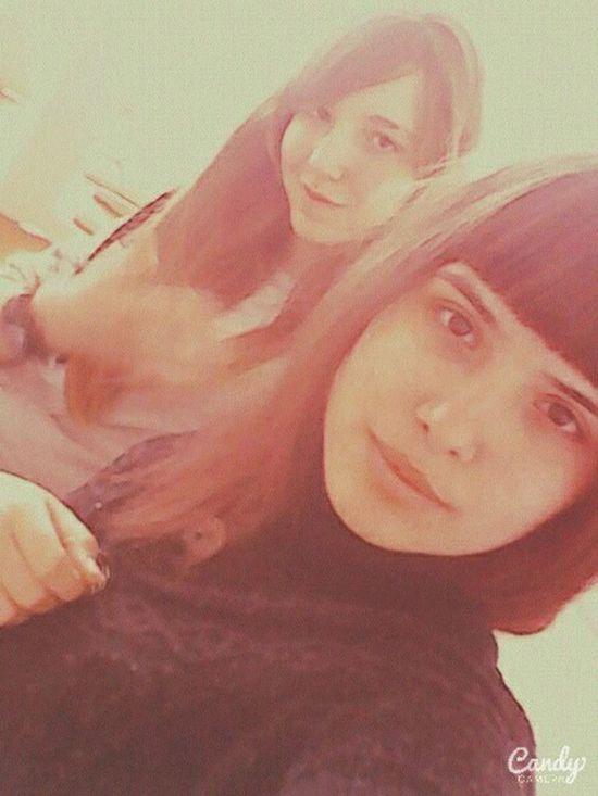 Hello World My Photography My Selfie I And Inna With My Friend Enjoying Life School ✌ Russian Girls Cheese! Open Edit EyeEm Gallery