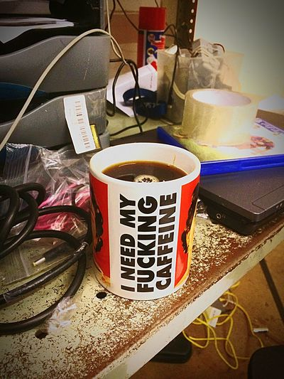 Wake up time :) Work Morning Help Messy Desk