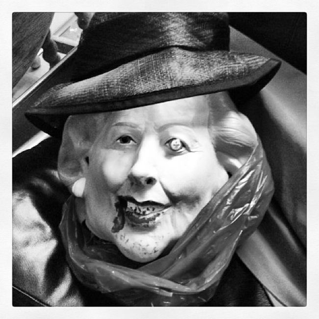 Happy Britain the Witch has gone to hell! #uk #thatcher #witchisdead #witch #mask #politics Politics Mask Uk Witch Thatcher Witchisdead