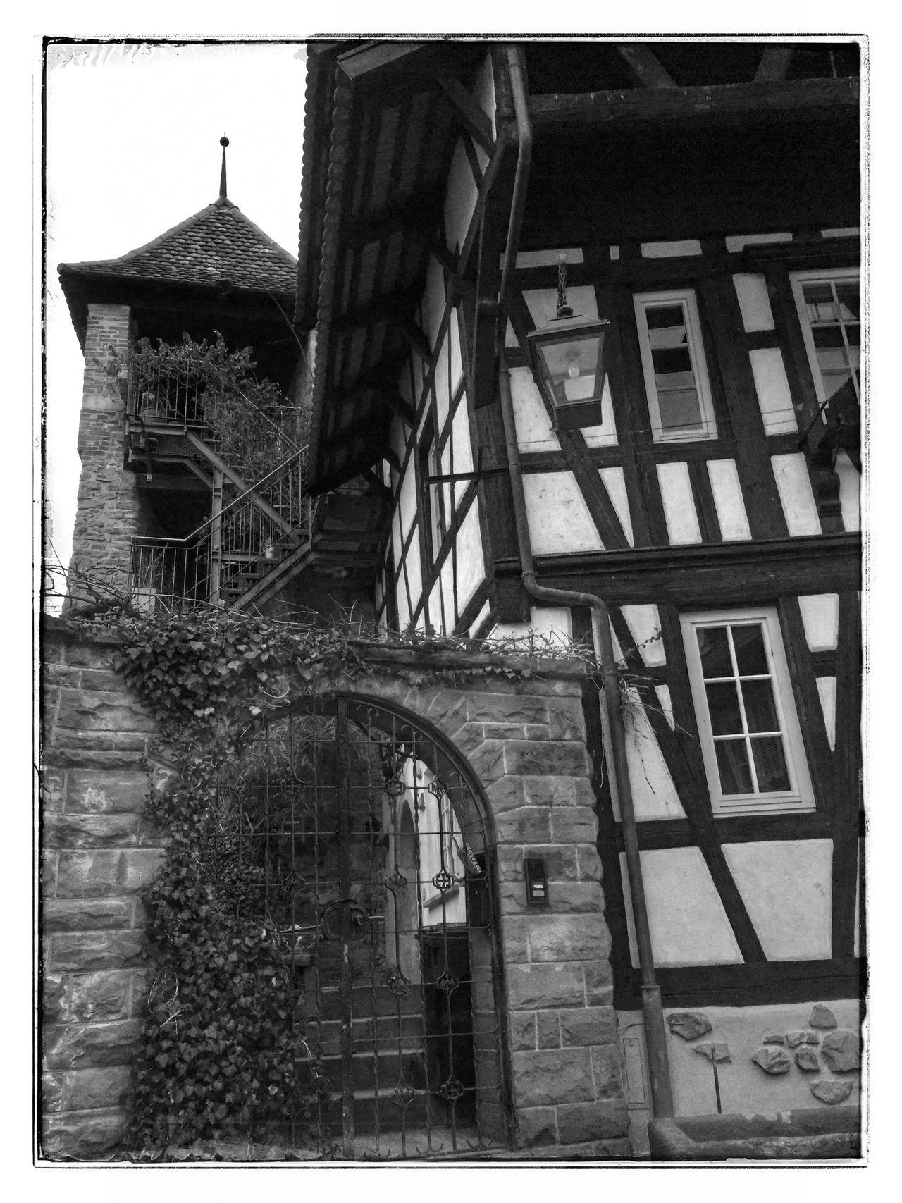 Engelgasse Gengenbach Black Forest Architecture Fachwerkhaus Nice City