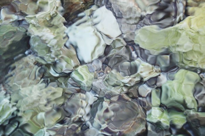 Full Frame Large Group Of Objects Backgrounds Abstract Close-up No People Cold Temperature Indoors  Water Nature Refraction Day stone