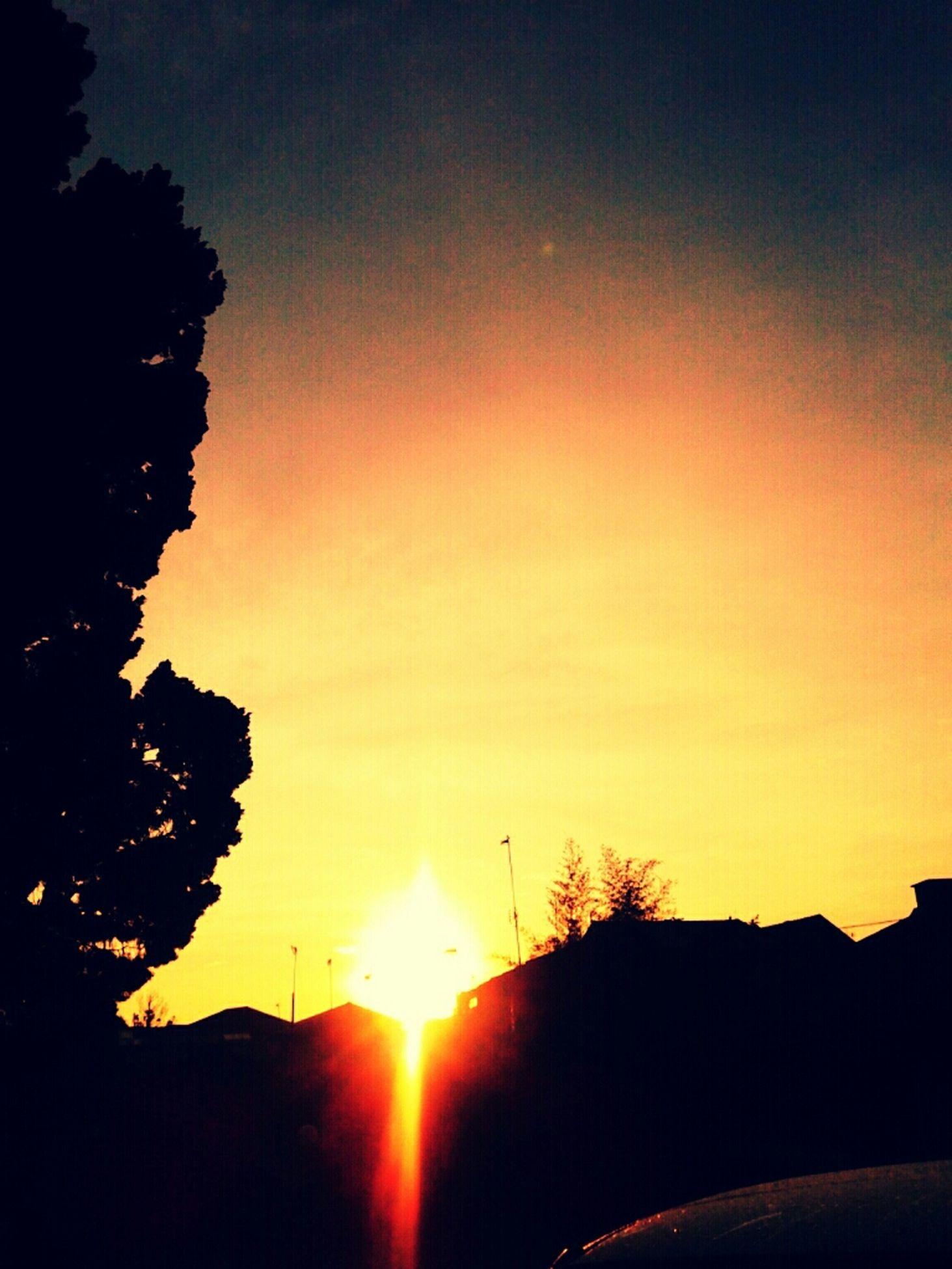 sunset, sun, silhouette, scenics, orange color, tranquil scene, beauty in nature, tranquility, sky, idyllic, nature, sunlight, landscape, tree, majestic, outdoors, no people, back lit, non urban scene, non-urban scene
