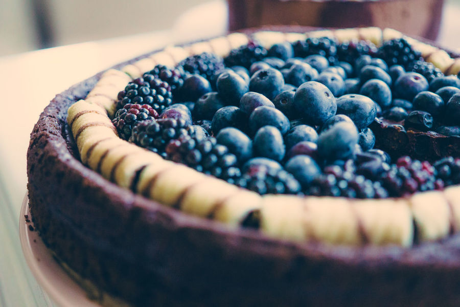 Blackberry Blackberry - Fruit Blueberry Close-up Day Food Food And Drink Freshness Fruit Healthy Eating Indoors  Indulgence No People Ready-to-eat Selective Focus Still Life Sweet Food Tart - Dessert Temptation