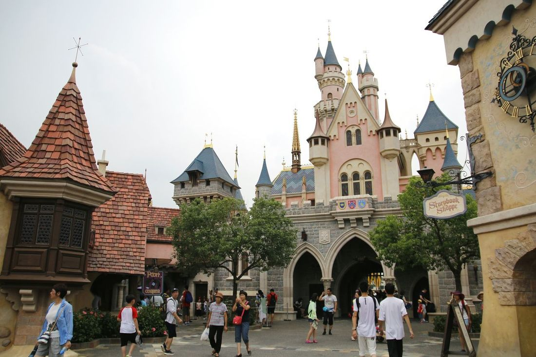 Disney Land Disneyland Disney DisneyLandHongKong Disneylandresort Disney Castle Hong Kong Disneyland<3 香港 Being A Tourist HongKong