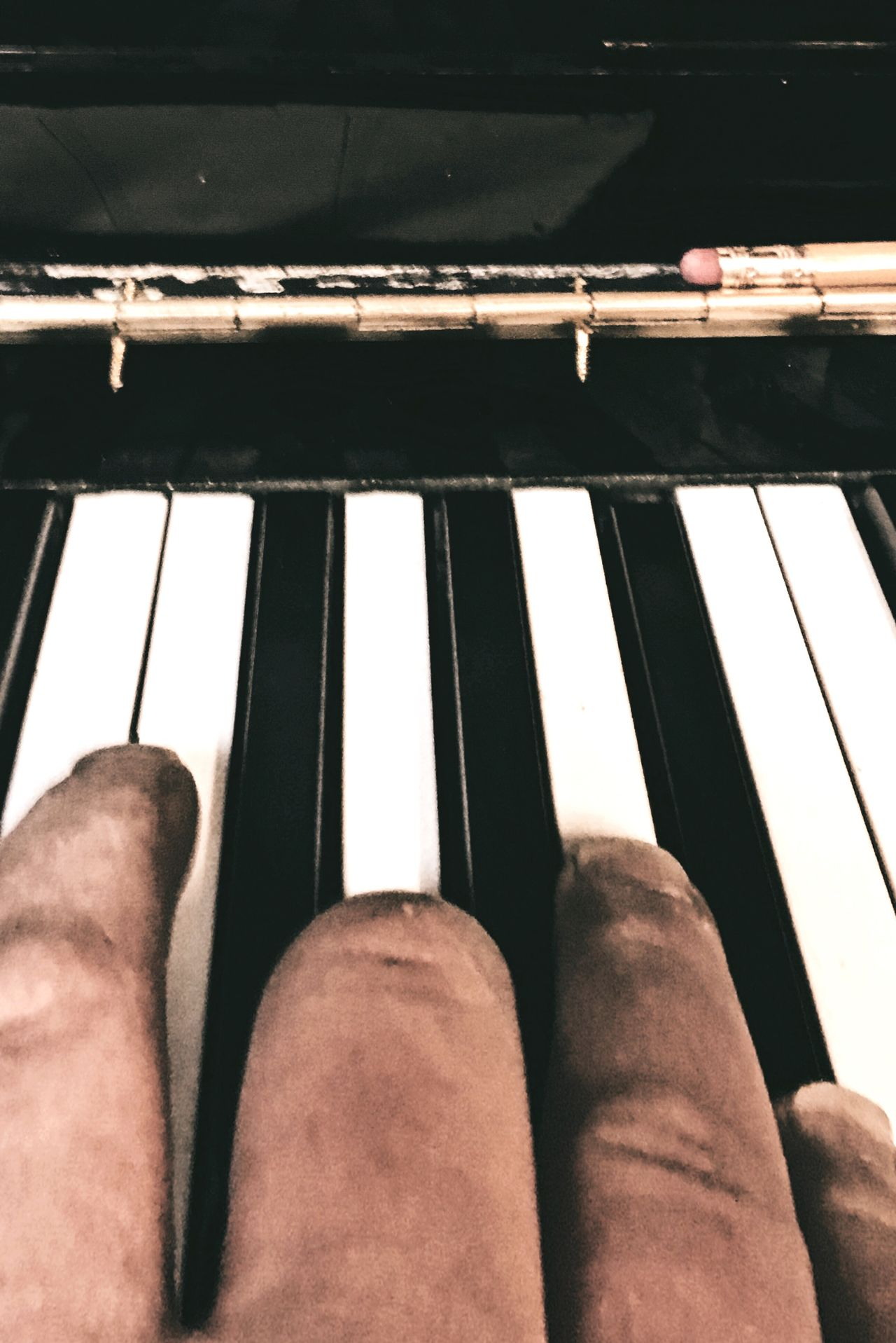 Piano Moments Piano Hand Fingers Playing Piano Chord Chords Music Musician Piano Key Musical Instrument Close-up Human Hand Human Body Part Arts Culture And Entertainment Indoors  One Person Pianist Classical Music Day