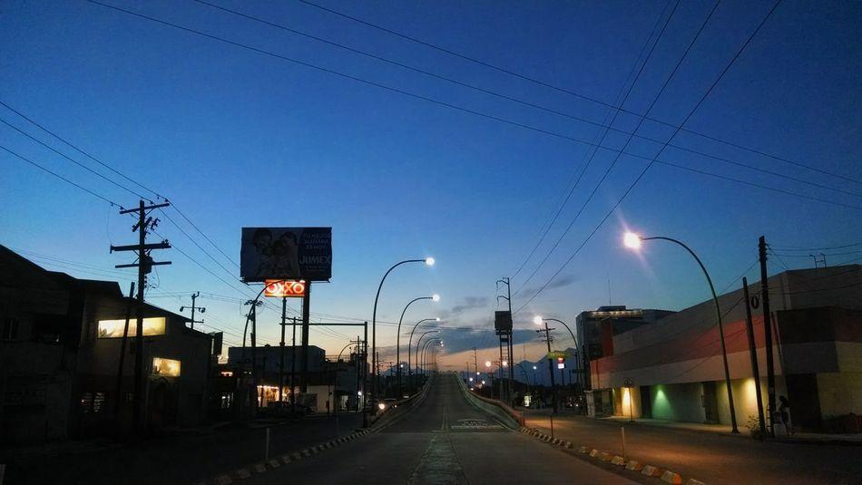 Good night Sky Night City View