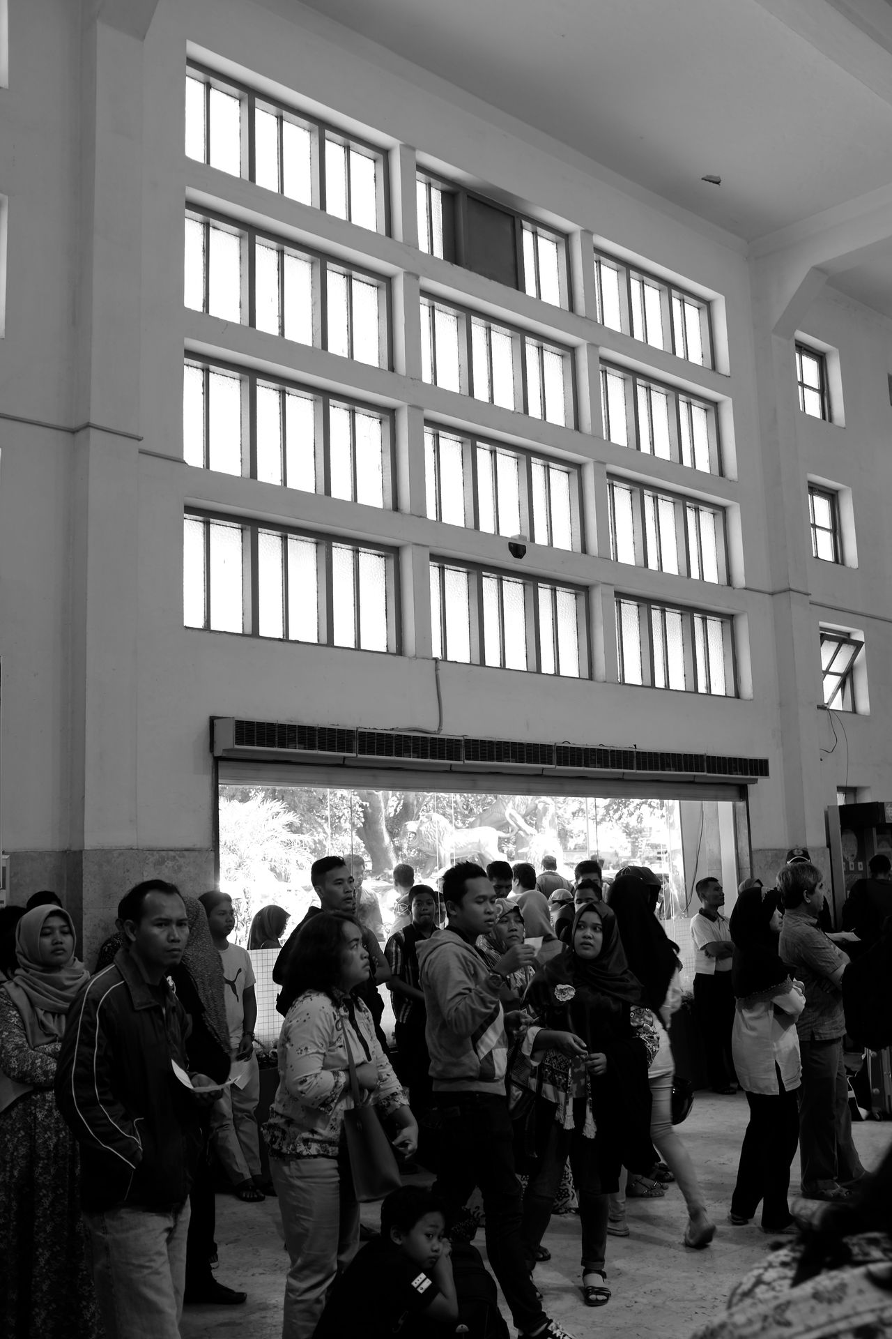 B&w Street Photography Black And White Busy Strangers Candid City Life Day Going Places INDONESIA Monochrome Travel Urban Lifestyle The Street Photographer - 2017 EyeEm Awards Train Station Crowded Waiting Malang
