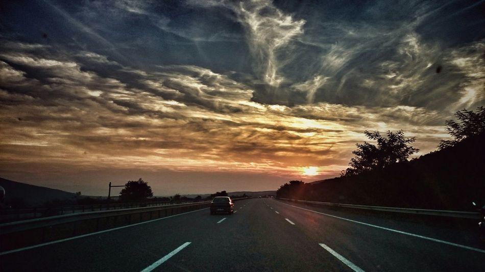 Road Günbatımı Yolcuyolundagerek
