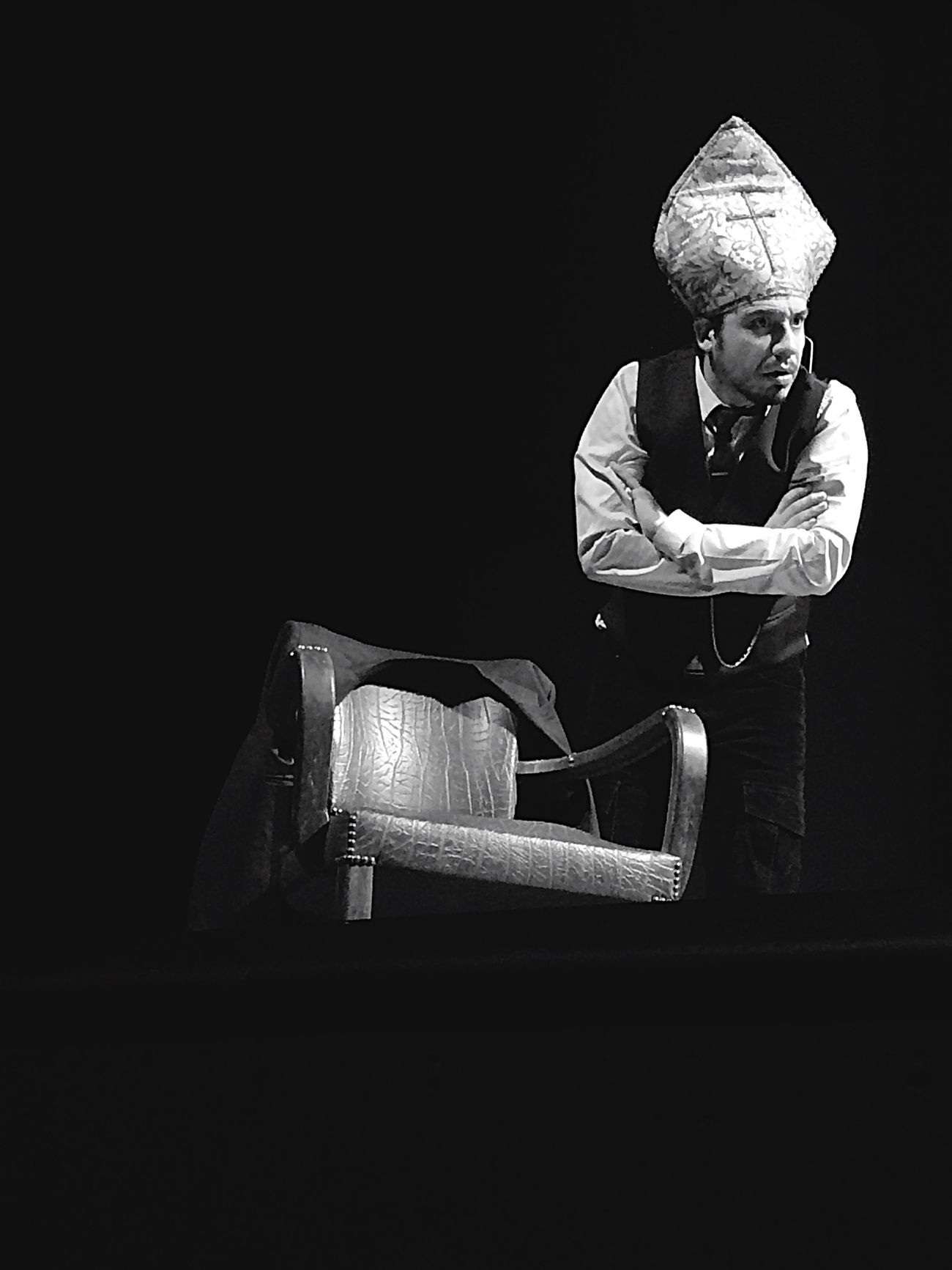 L'Exoconférence. Alexandre Astier Exoconference Spectacle Blackandwhite Extraterrestre