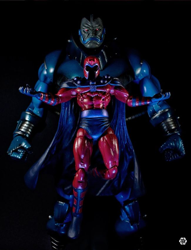 Marvellegends Marvel Xmen Magneto Apocalypse Marvelselect Toybiz