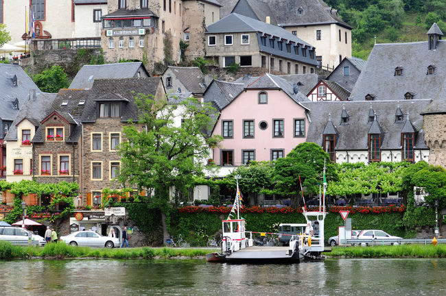 cityscape of village Beilstein at Moselle river in Germany. Typical half-timbered houses. Architecture Beilstein Beilstein Mosel Beilstein Moselle Boat Building Exterior Built Structure Half-timbered Half-timbered House Half-timbered Houses Mode Of Transport Mosel Moselle Moselle Valey Moseltal Nautical Vessel Residential District Residential Structure River Summer Village Water Waterfront