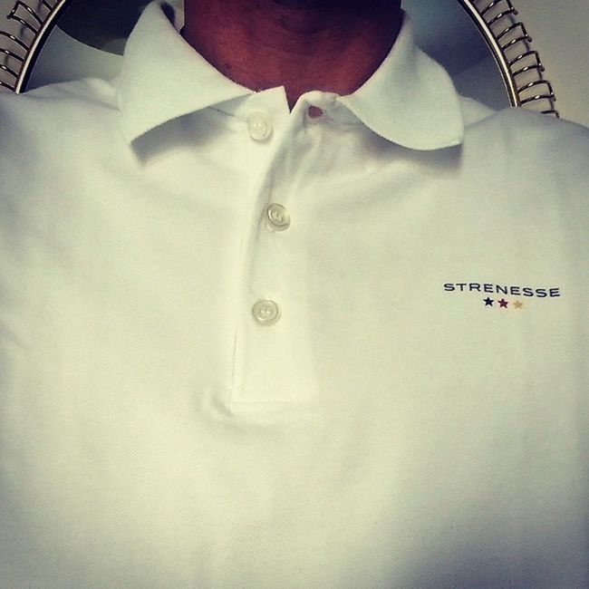 Office shirt of the day by Strenesse . Decent enough but showing where my heart beats. ;-) Ger AneurerSeite Worldcup2014