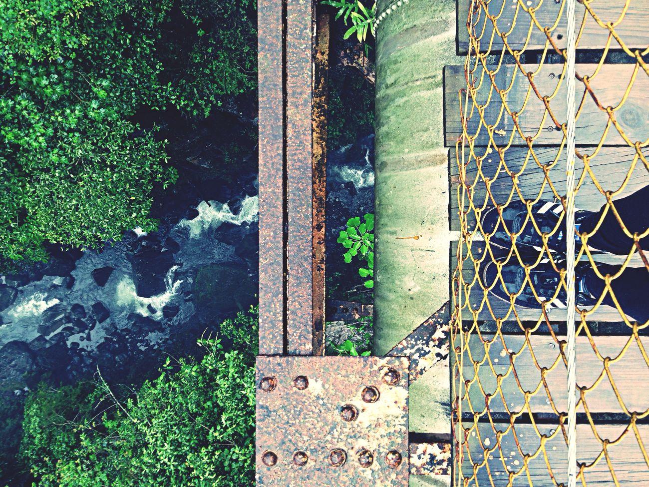 Water Falls That's Me Bridge