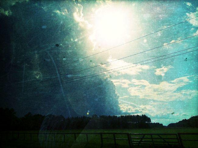 Taking Photos Rain Nature Clouds