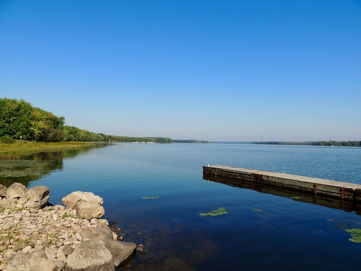 Water Blue Clear Sky Scenics Tranquil Scene Lake Beauty In Nature Non-urban Scene No People Waterfront Nature Tranquility Photography Quebec Rigaud Nature_collection Nature Photography Nature Photooftheday