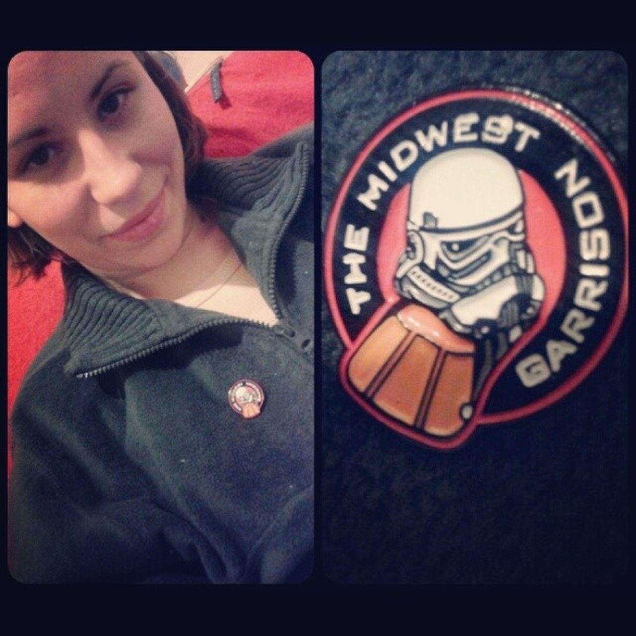 Da se zna cija sam! MidWest Garrison 501st Tk4186 proud wife starwars pins