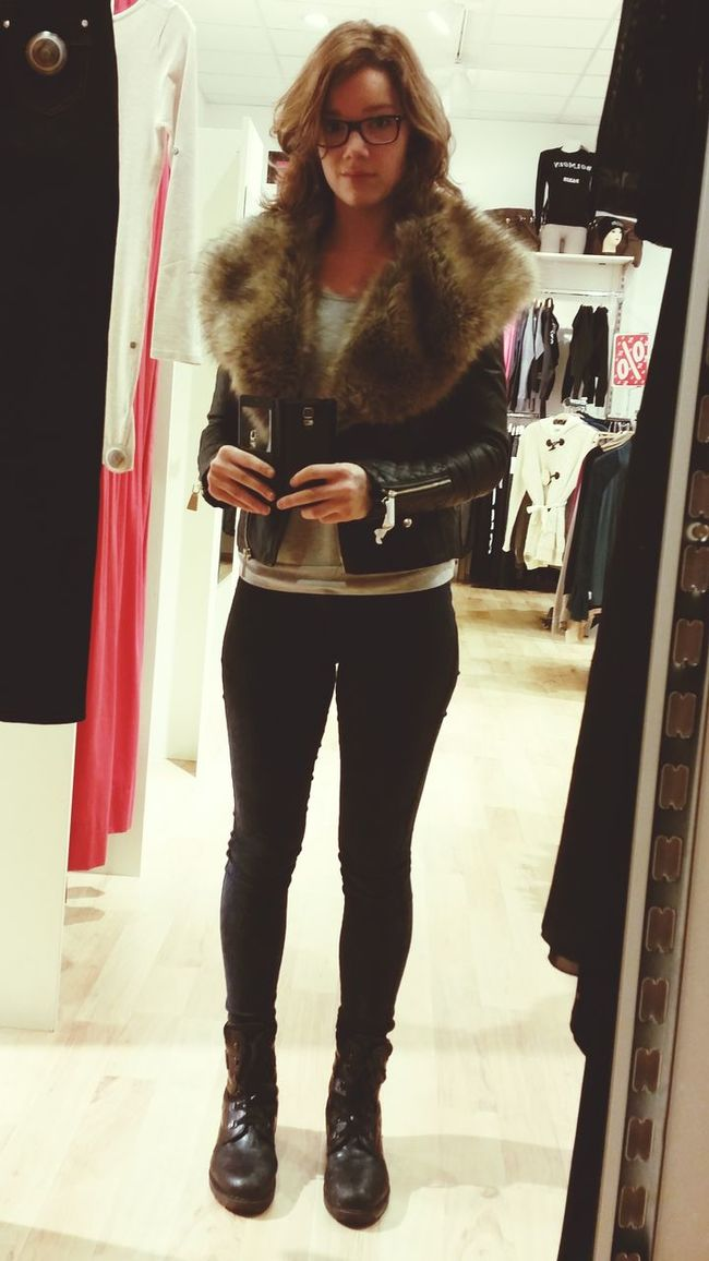 The Look Of The Day Jacket Be Amazing I Like My Followers I hope you all had/have a nice day ?